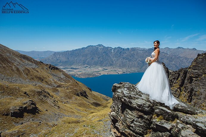 Garden Spurs Heli Wedding,Queenstown Wedding, Cecil Peak Wedding photography, Destination Wedding NZ