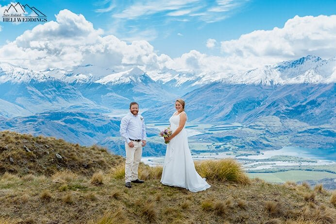 Wanaka Wedding Ceremony, Coromandel Peak Wedding, New Zealand Wedding