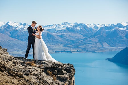 The Ledge Wedding, new zealand destination wedding
