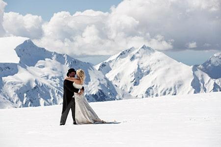 Isobel glacier wedding, destination wedding Wanaka