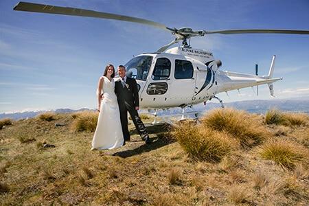 Coromandel Peak, Heli Wedding