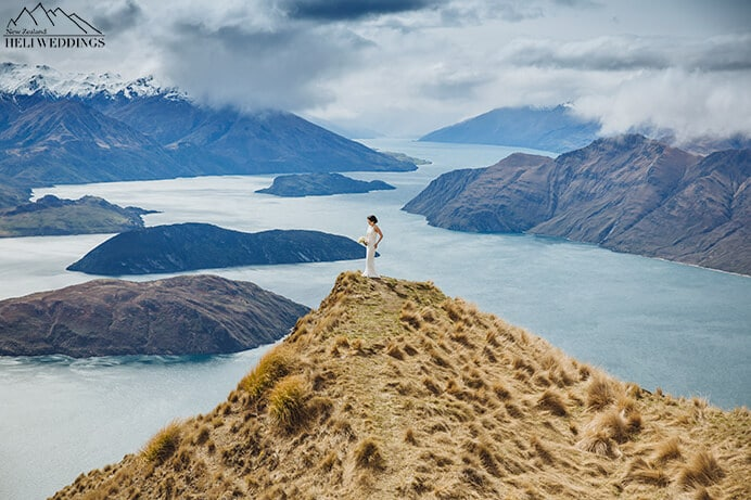 Epic Wedding images, Wanaka Mountain Wedding