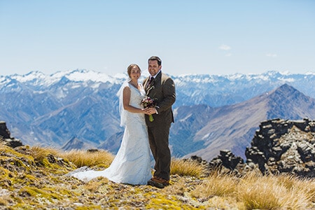 Cecil peak wedding