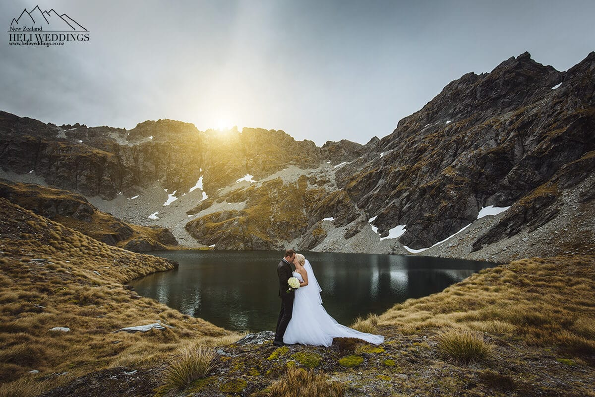 Lake Isobel, Heli Wedding, Queenstown Wedding
