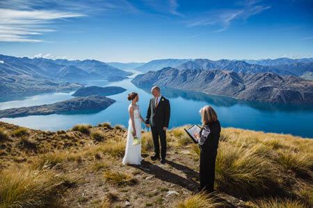 wanaka heli wedding ceremony