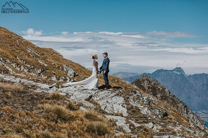 Lake Isobel Wedding in Queenstown, alpine lake wedding in NZ, New Zealand wedding packages