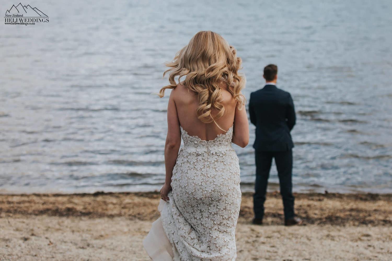 First Look at Queenstown Wedding