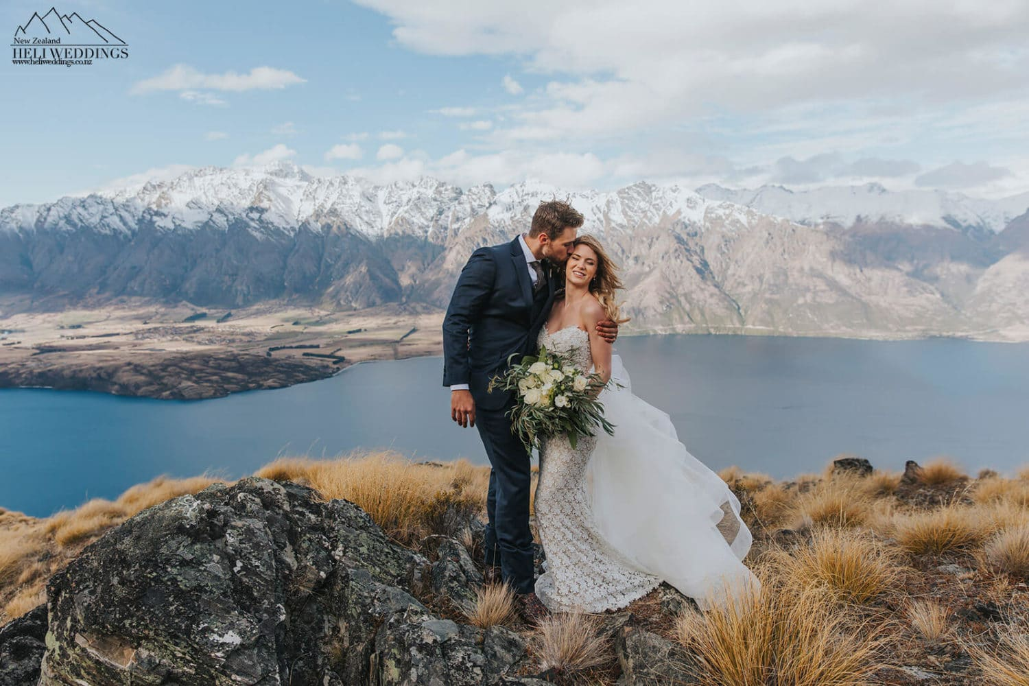 Queenstown Wedding package with helicopter