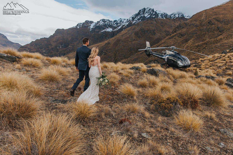Mountain Wedding photography New Zealand