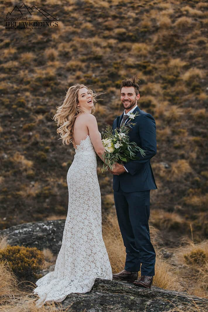 Mountain Wedding photography New Zealand