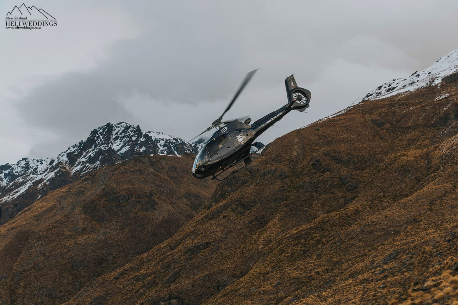 Over the top Eurocopter B4