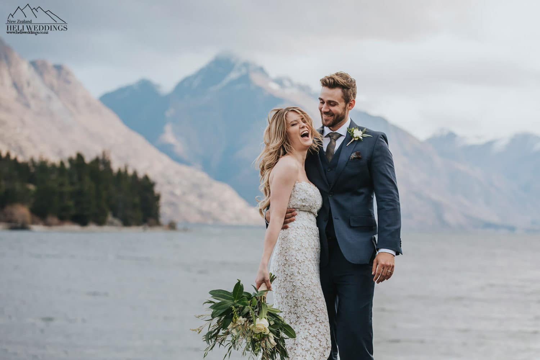Queenstown Winter Wedding,Have fun on your wedding day
