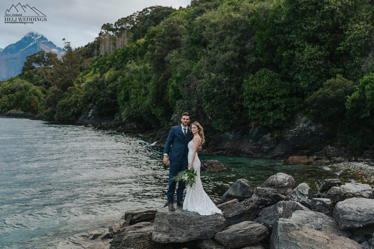 Wedding by the lake in Queenstown, Queenstown Wedding package