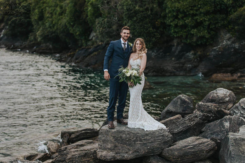 Wedding by the lake in Queenstown, Queenstown Wedding package