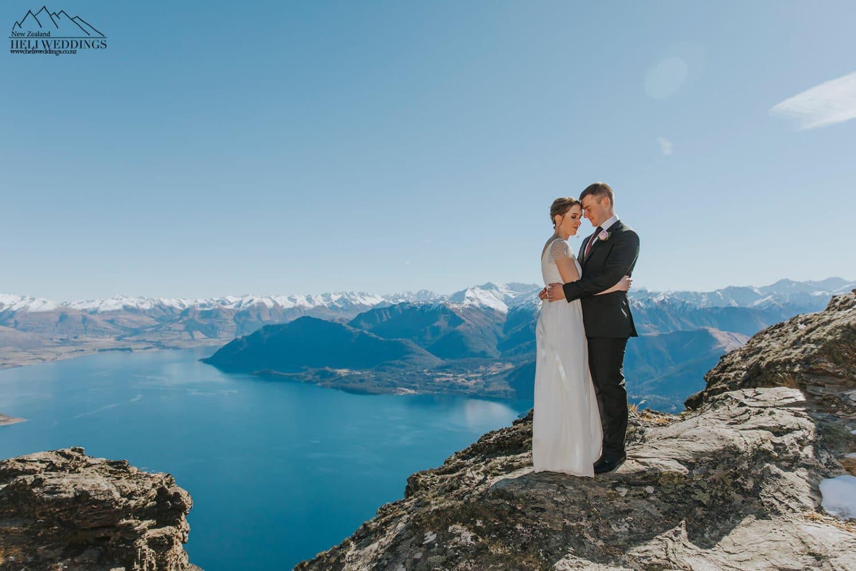 Winter wedding in the snow, New Zealand Destination Wedding