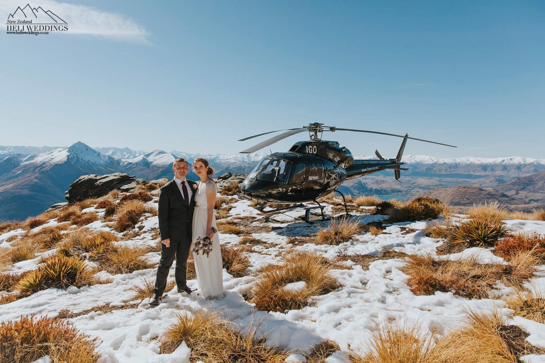 Heli Weddings New Zealand