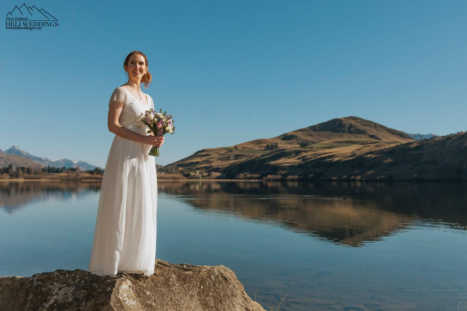 Bride by Lake Hayes Queenstown