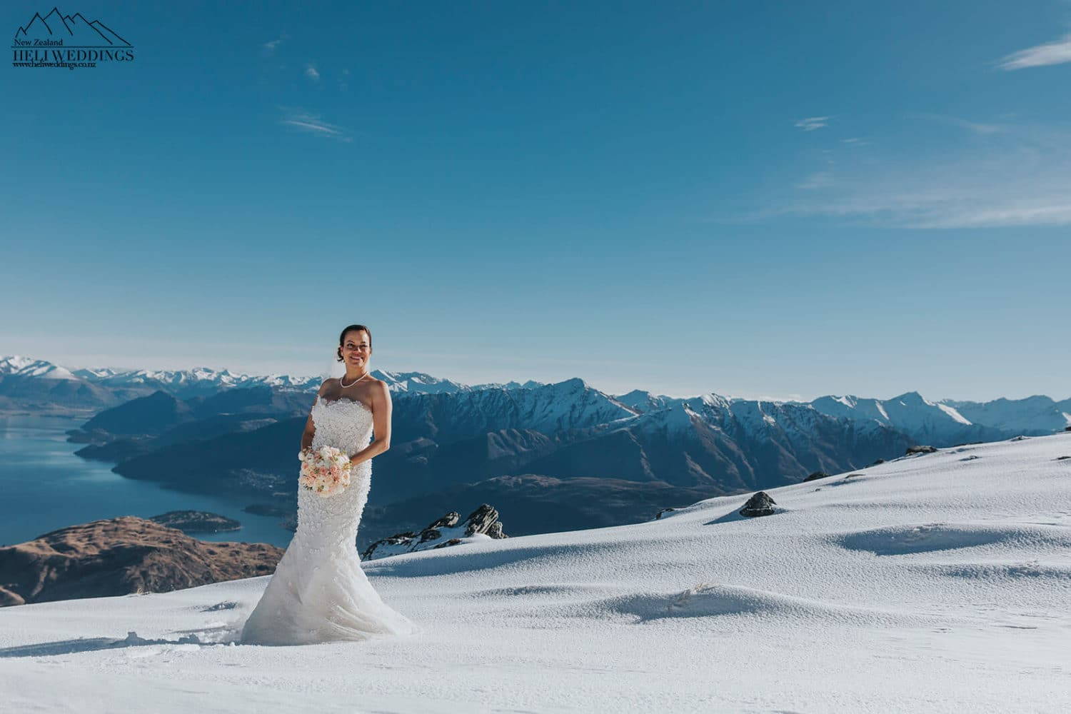 Winter Wedding in Queenstown New Zealand