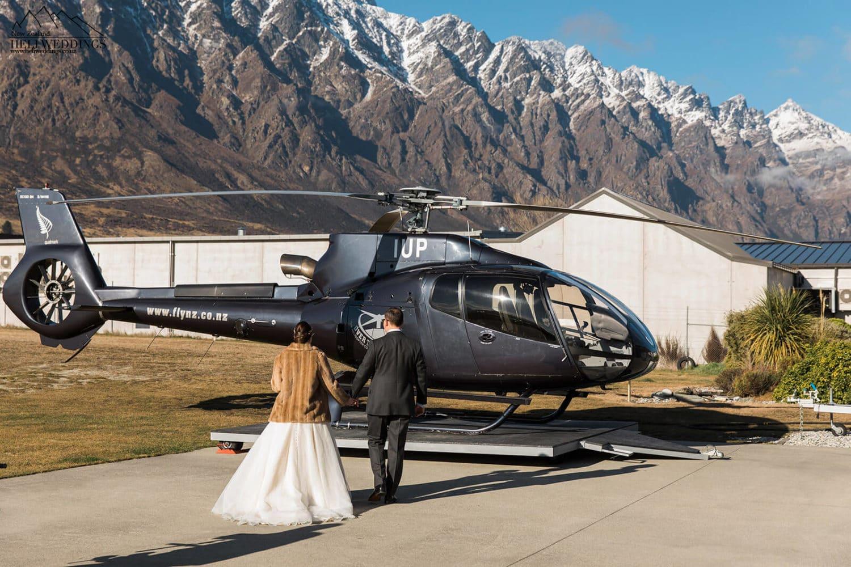 Heli Wedding NZ