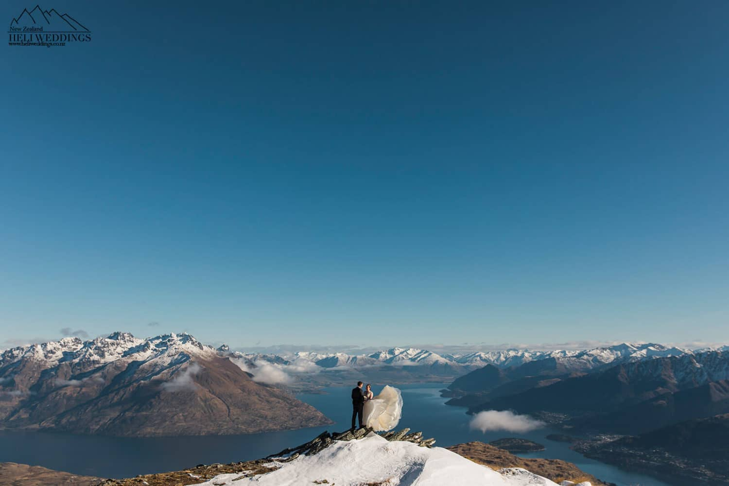 Winter wedding in Queenstown New Zealand, NZ Wedding packages