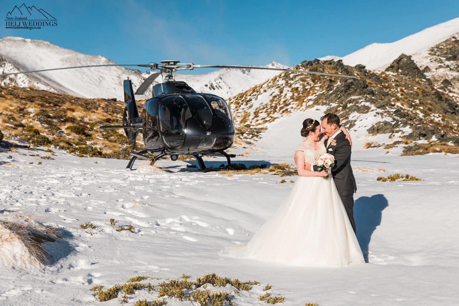 Heli Wedding in Queenstown