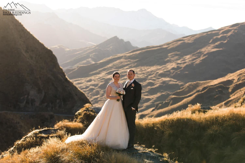 Skippers Canyon wedding, New Zealand destination Wedding