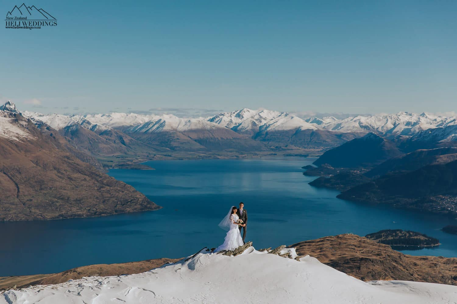 Wedding photos on The Remarkables Queenstown