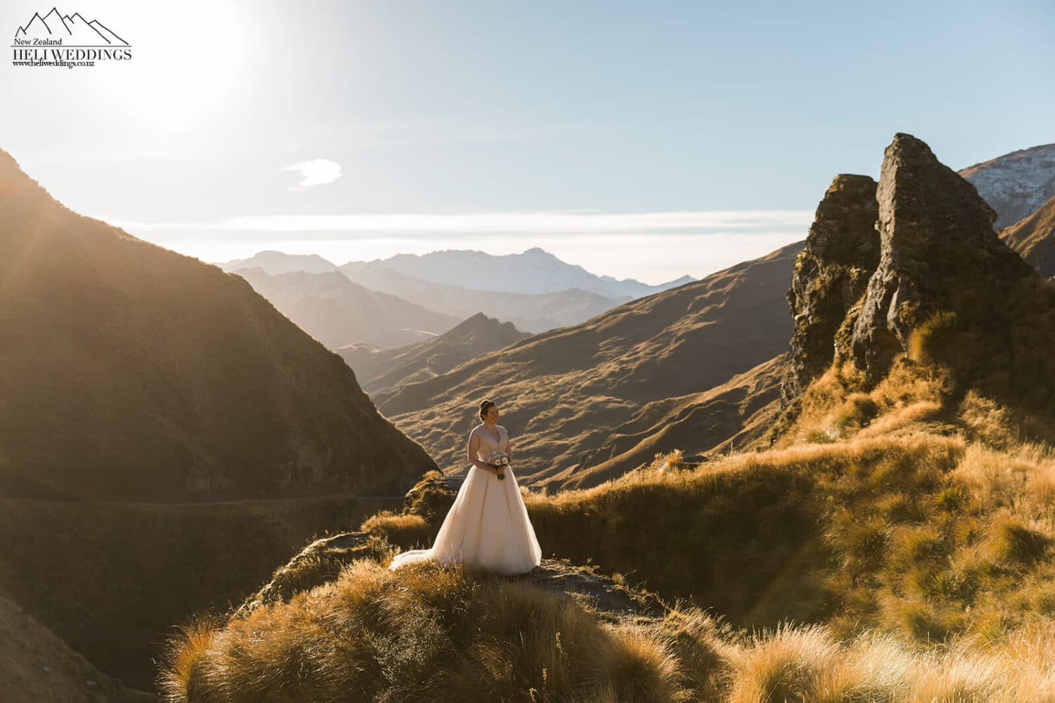 Skippers Canyon wedding, New Zealand destination Wedding