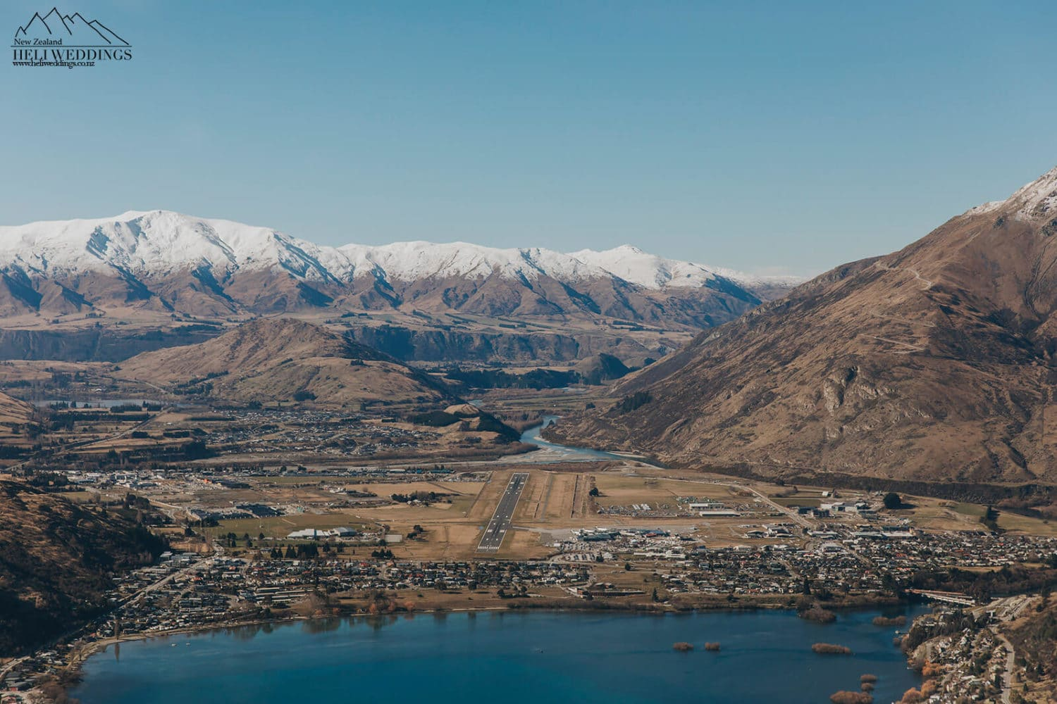 Coming in to land in Queenstown
