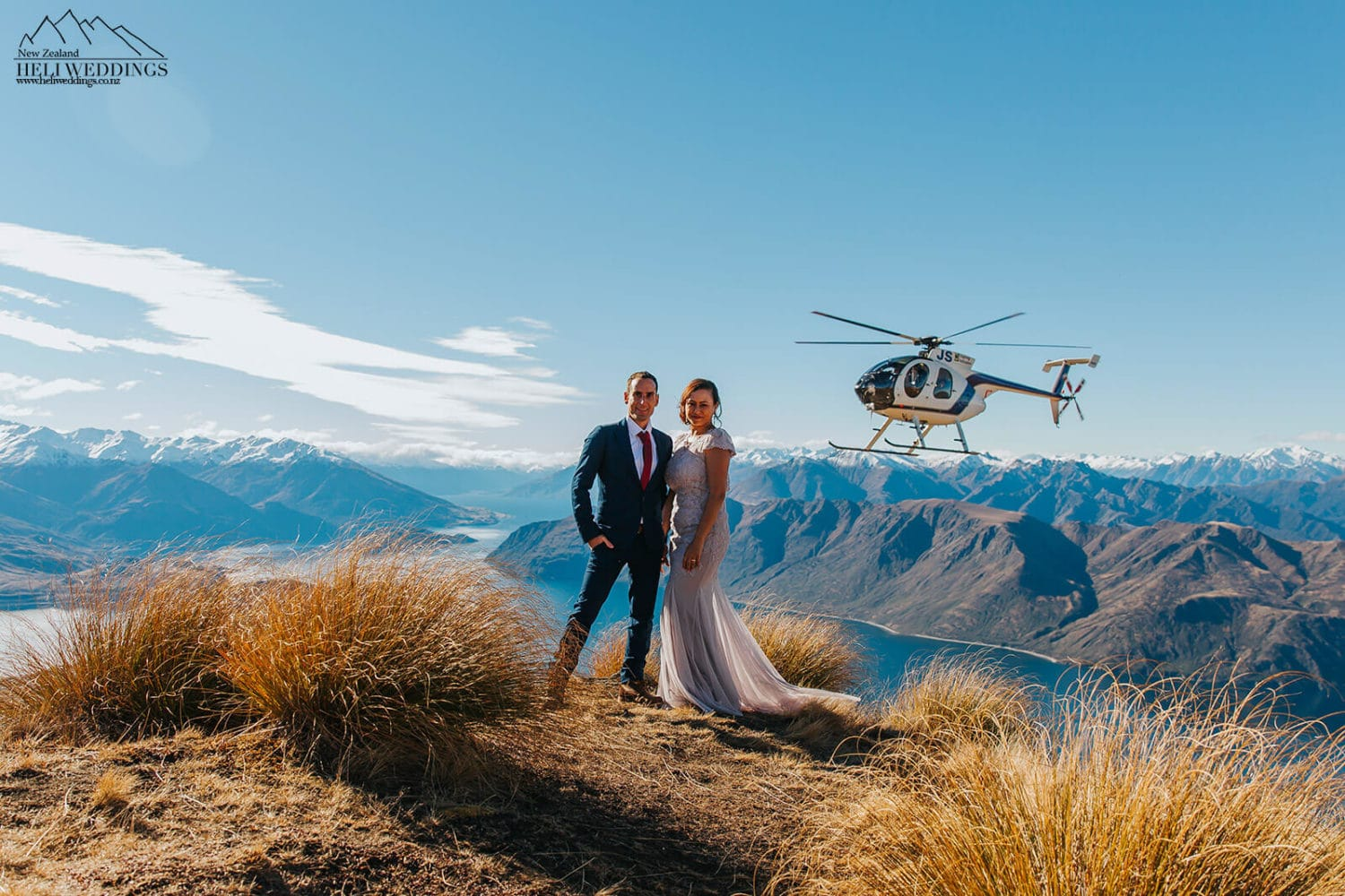 Coromandel Peak Wedding packages with helicopter