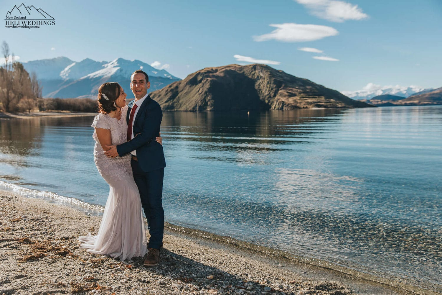 Wanaka Wedding at Glendhu bay