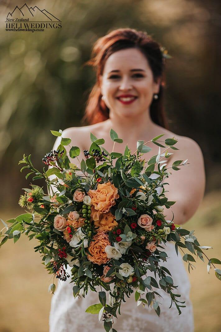 Elopement wedding in Queenstown New Zealand
