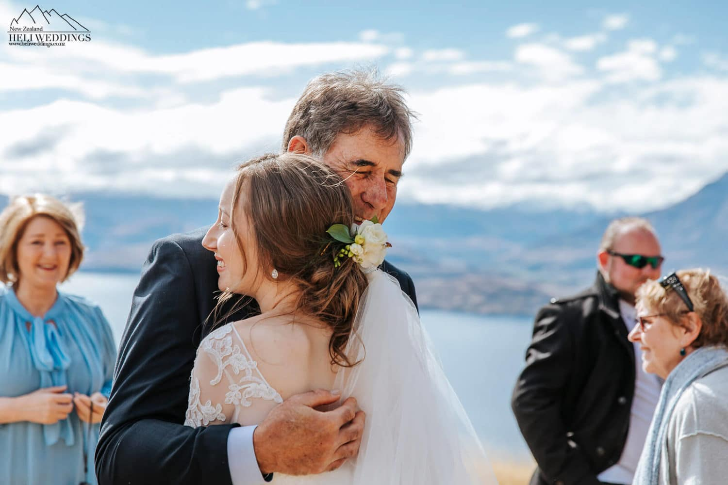 Mountain wedding ceremony on Bayonet Peak Queenstown