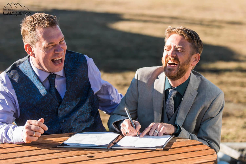 Queenstown same sex wedding , samesex destination wedding