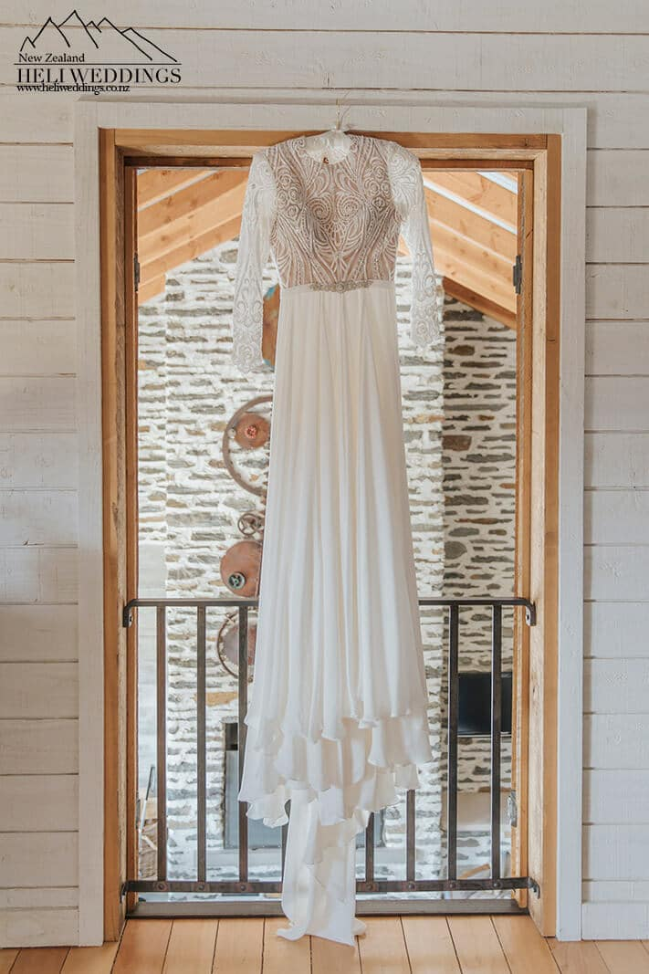 Wedding Dress in Queenstown