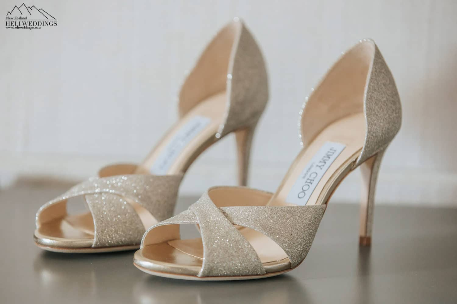Jimmy Choo Wedding shoes Queenstown