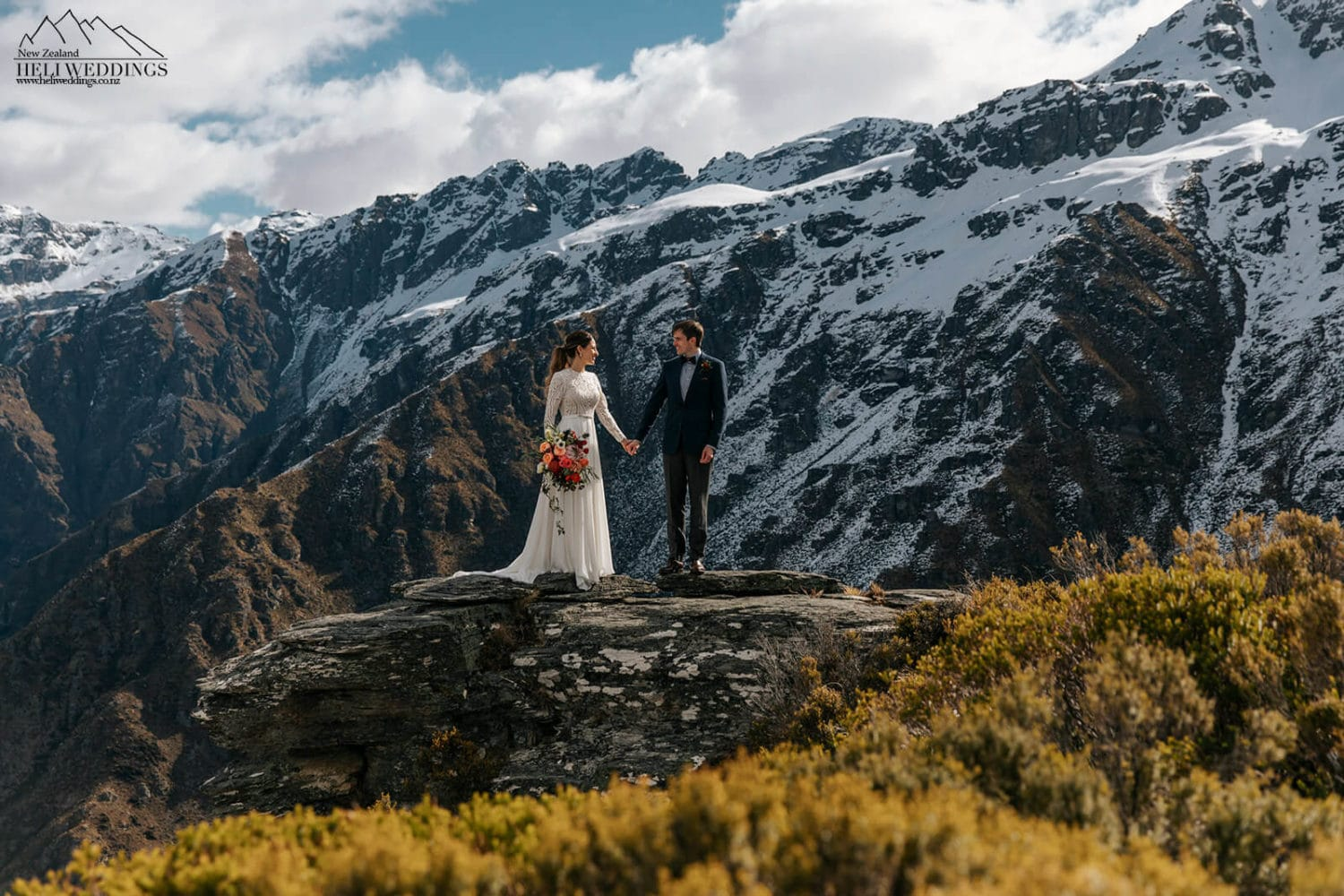 Queenstown Wedding packages with helicopters
