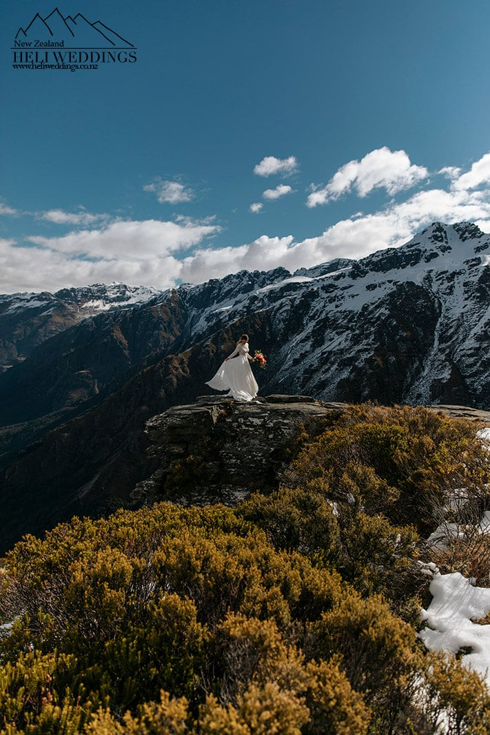 Wedding on bayonet peak