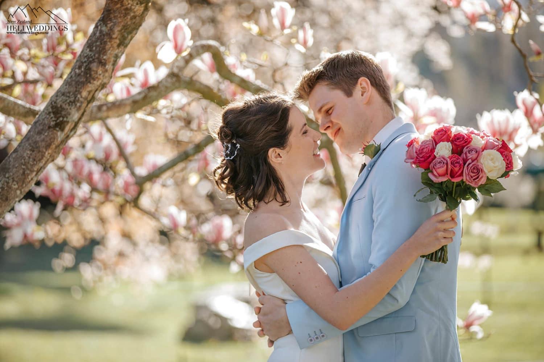 Wedding photography at Wanaka Station Park