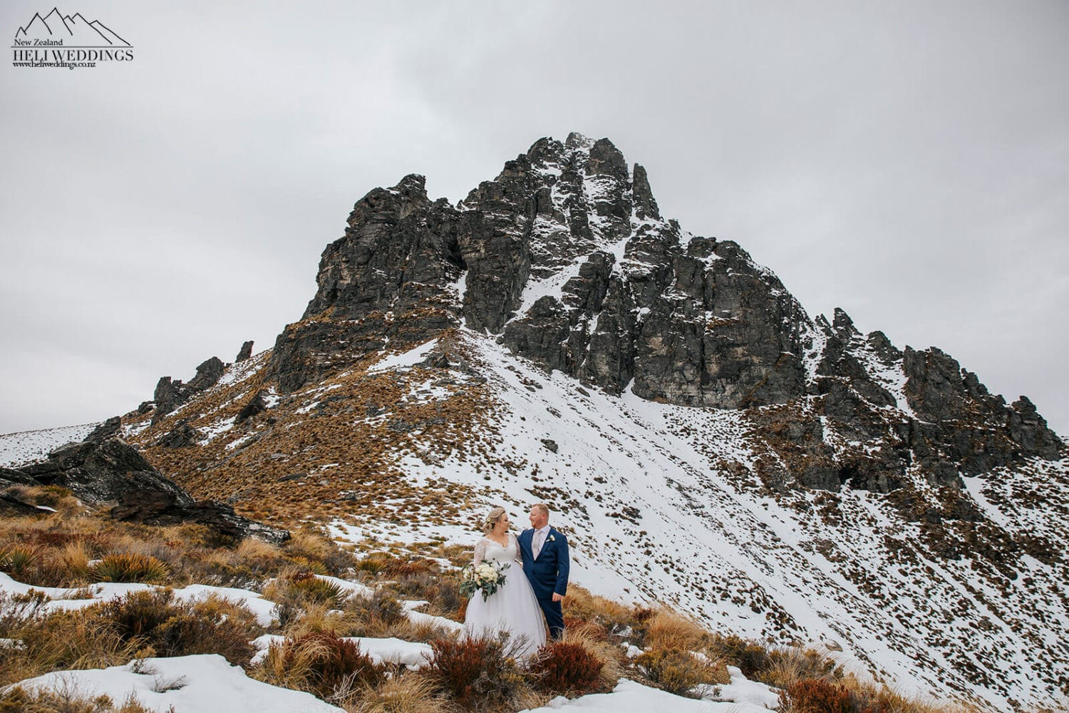 Winter wedding in Queenstown