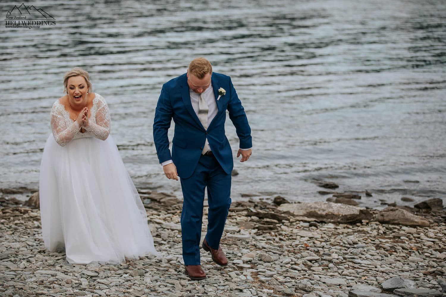 Elopement wedding in Queenstown New Zealand