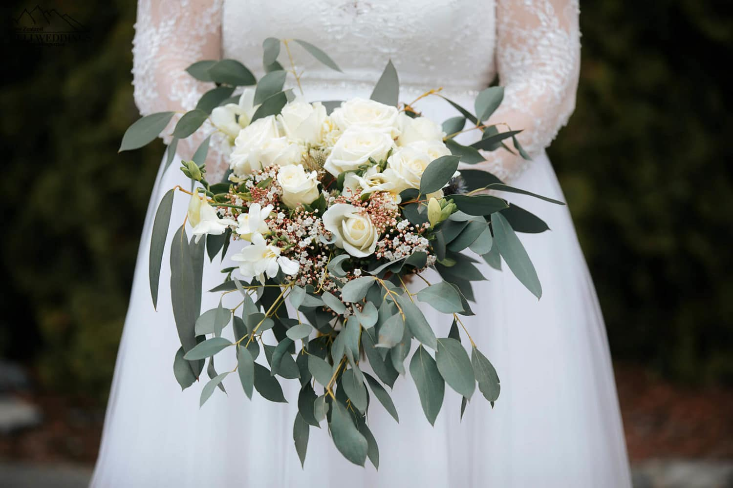 Queenstown wedding bouquet