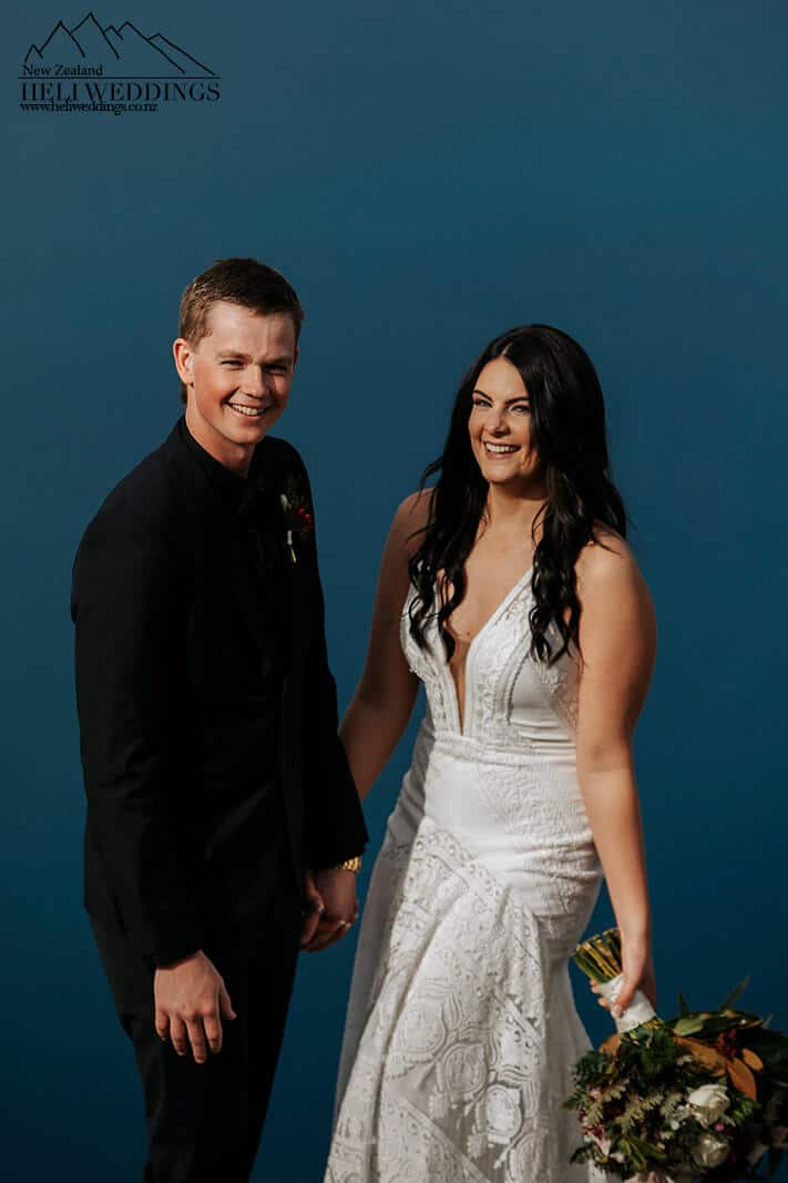 Winter Wedding in Queenstown with Helicopter