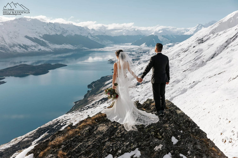 Mt Crichton Winter Heli Wedding