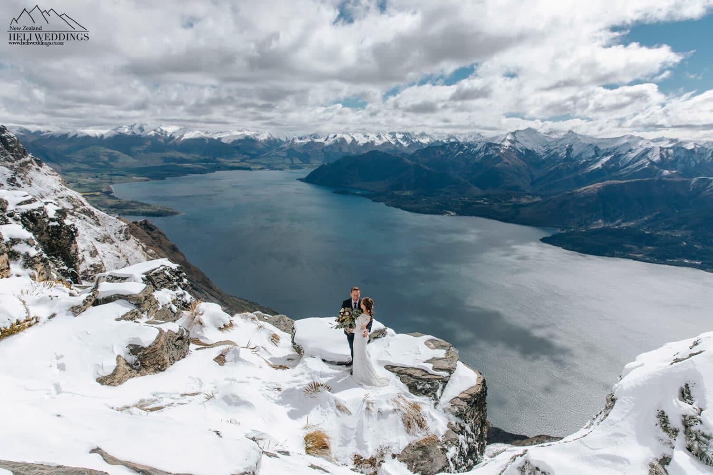 Winter Elopement Wedding Package In Queenstown New Zealand