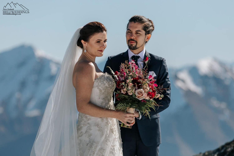 Heli Wedding Ceremony in Queenstown