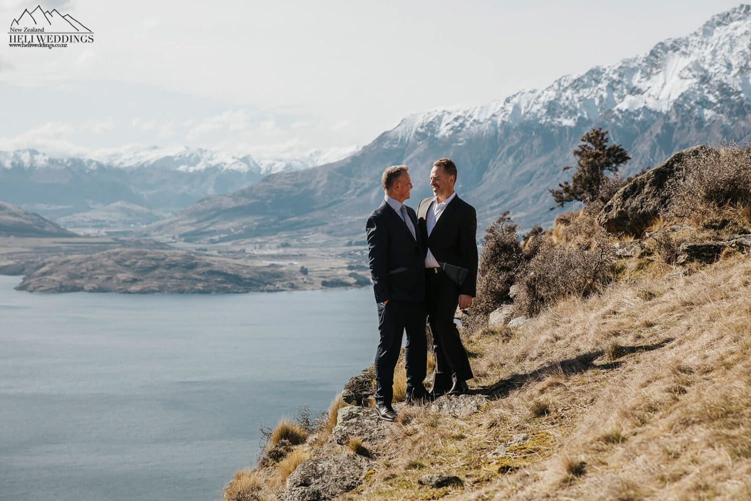 Same sex wedding in Queenstown