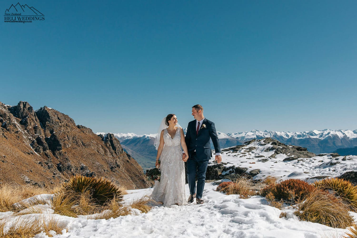 Destination Wedding Package Wedding on The Ledge in Queenstown