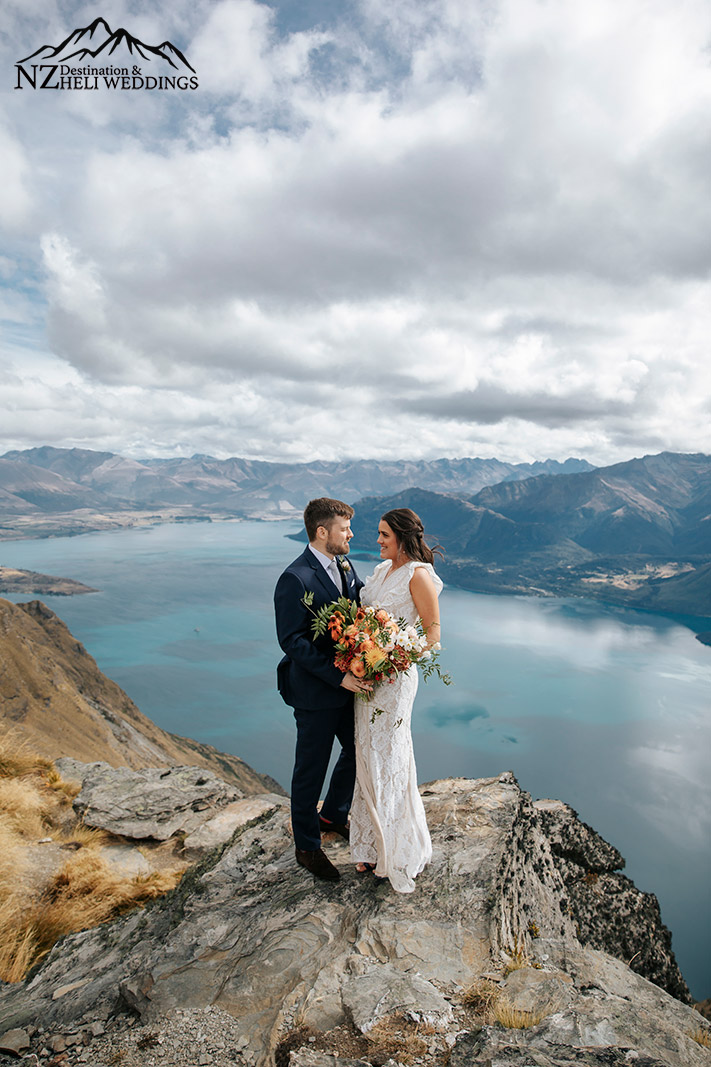 Heli Wedding at The Ledge in Queenstown
