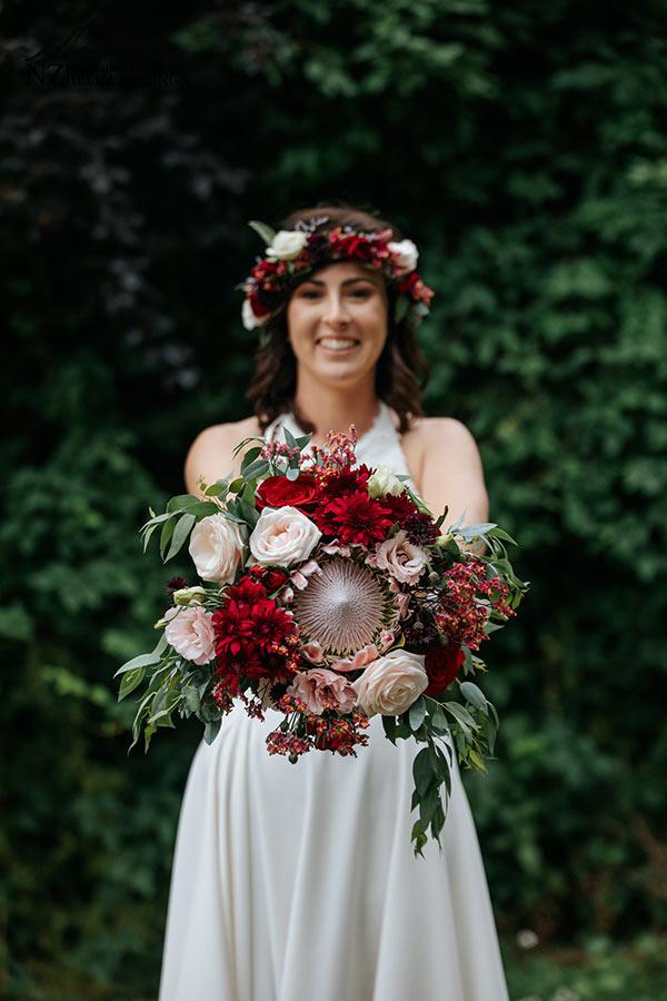 Queenstown Wedding flowers for Heli Weddings
